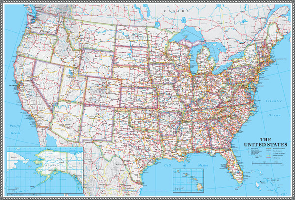 Map Of Usa For Sale Map Wall HD
