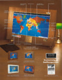 Geochron Boardroom Model World Time Clock