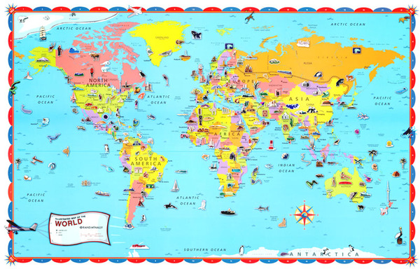 Childrens World Wall Map 32x50 - Swiftmaps.com on glider map, statue map, inverted map, glass map, go to the map, palace map, border map, magnetic map, large map, world map, trench map, floor map, desk map, plant map, plate map, atlas map, home map, green map, englewood map, step map,