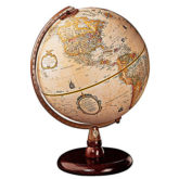 Bueatiful Quincy desktop globe