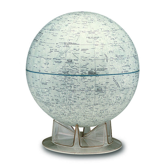 Official Nasa Moon 12 Quot Globe By Replogle Swiftmaps Com