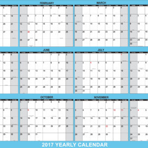 2018 SwiftGlimpse Yearly Laminated Dry Erase Wall Calendar