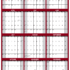 2020 SG Yearly Planning Calendar Vertical Maroon