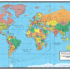 Smithsonian Journeys World Wall Map Blue Ocean Special Edition High Res