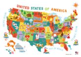 Children's United States US USA Wall Map for Kids 28x40